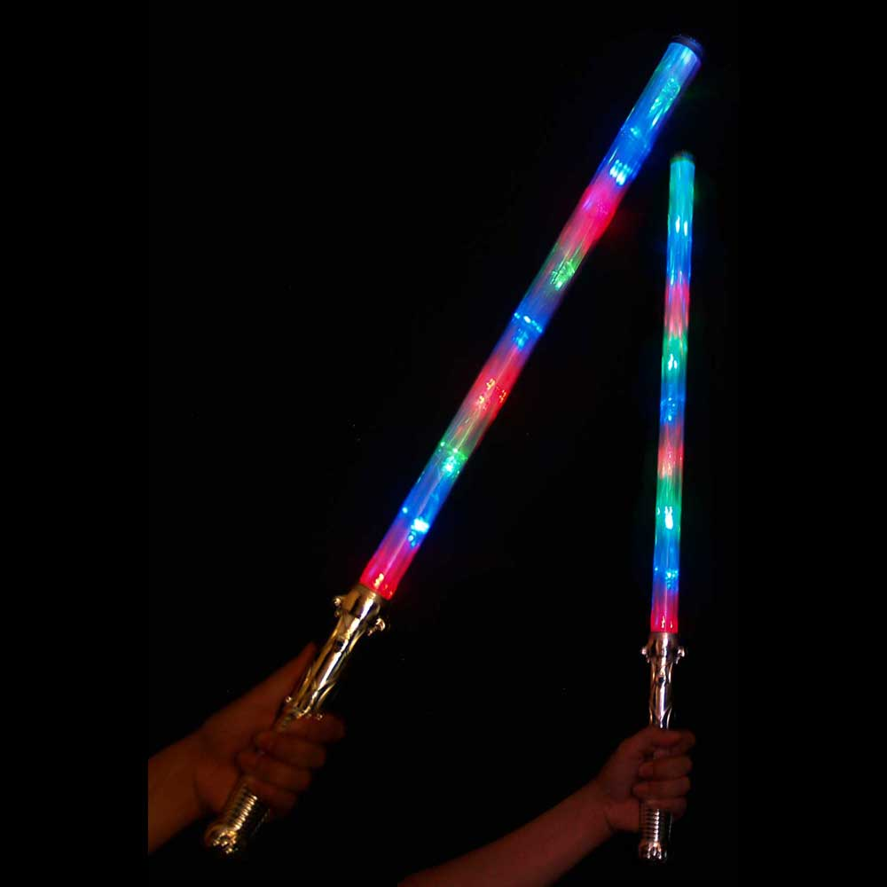 Light Saber LED Multicolor Flashing Sword