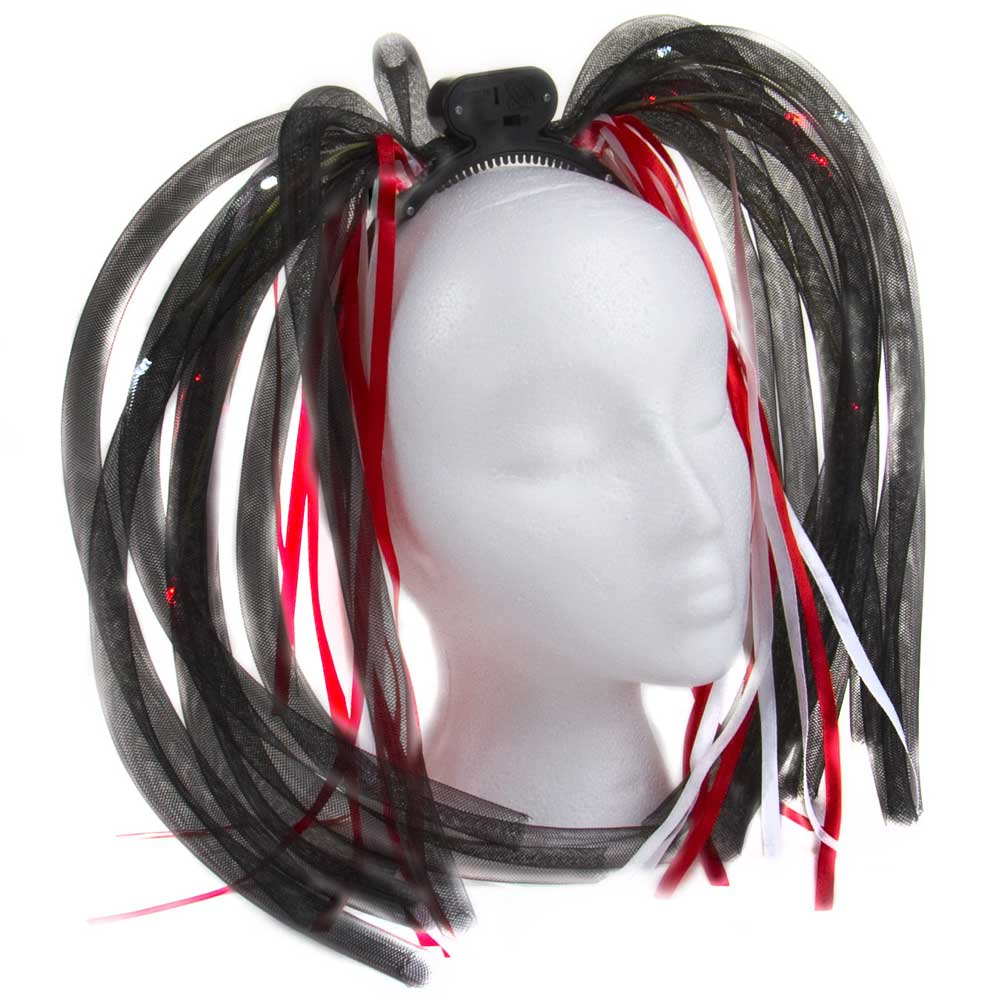 Tentacle Boppers/Dreads Flashing Headpiece