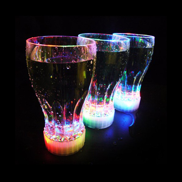 11 oz LED Light-Up Flashing Cola / Juice Cup - Case of 48 units