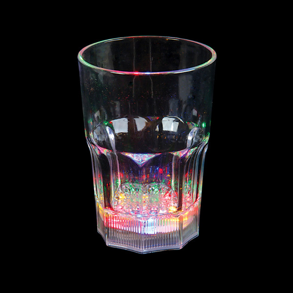 12 oz LED Light-Up Flashing Juice / Water Glass - 48 unit wholesale lot