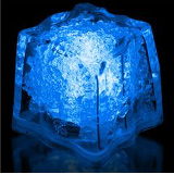 Litecubes® Flashing LED Freezable Ice Cubes / Rocks - 1 cube
