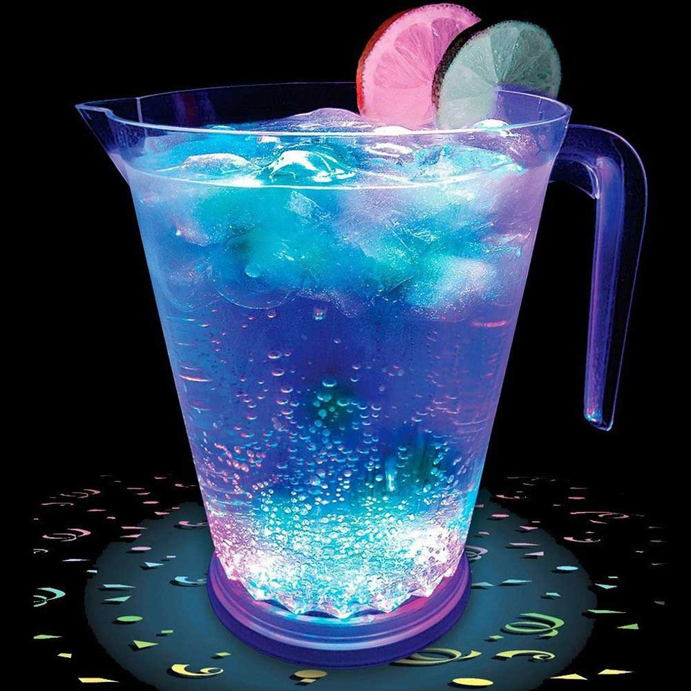 48 oz Multicolor LED Light Up Bar Serving Pitcher