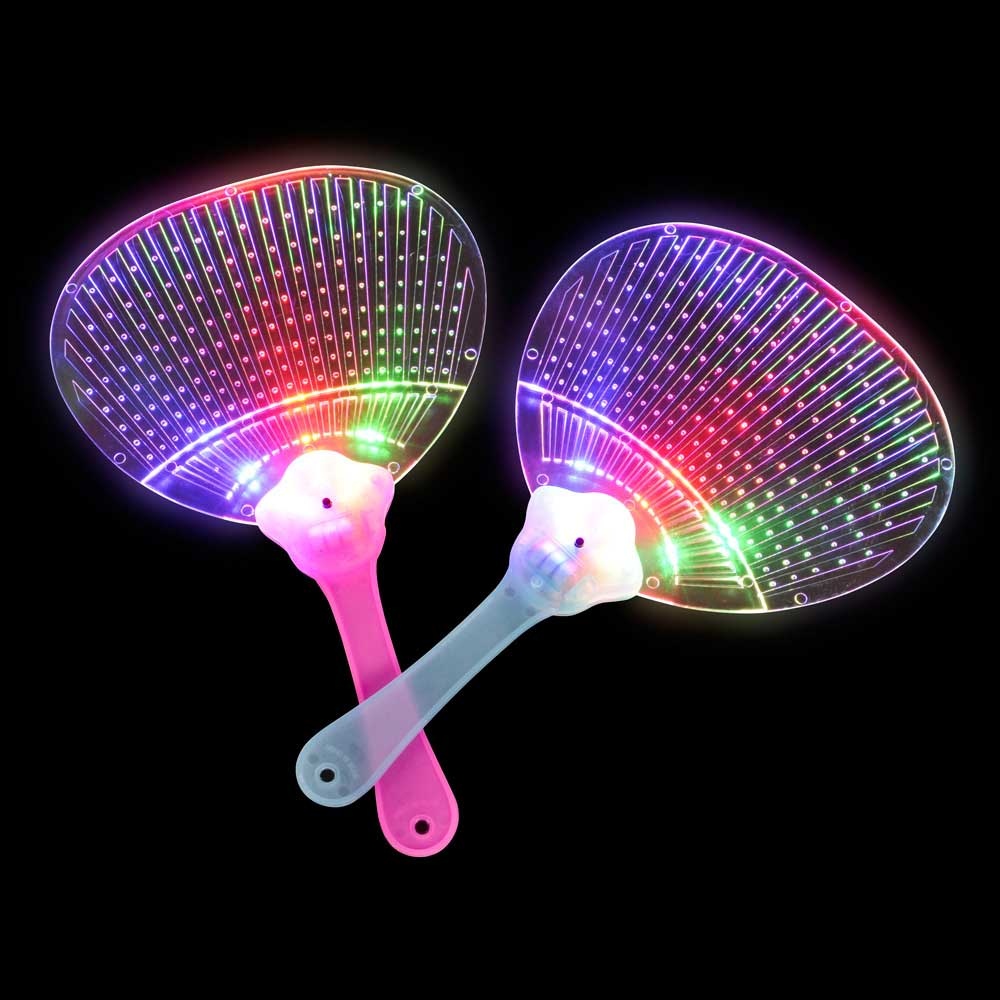 LED Light-Up Hand Fan