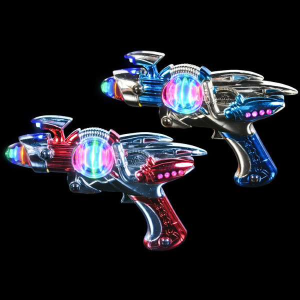 Laser Space Gun With LED Lights & Sound