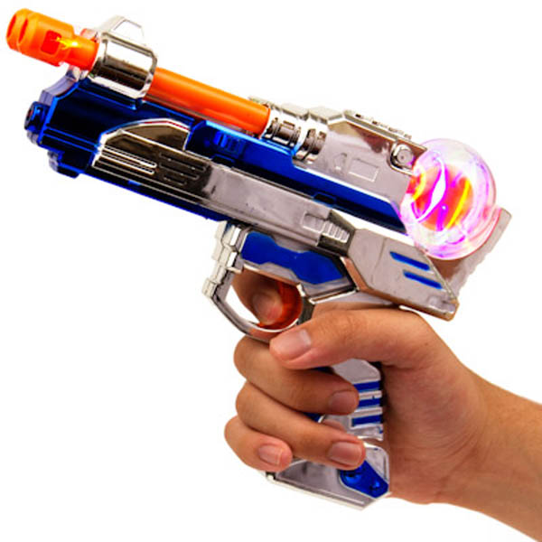 LED Survivor Gun