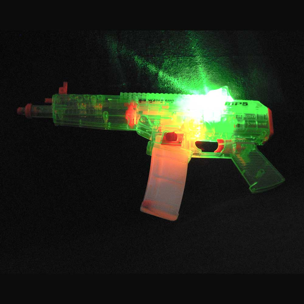 Flashing LED Water MP5 Machine Gun