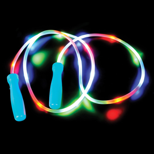 LED Light-Up Multicolor Flashing Jump Rope