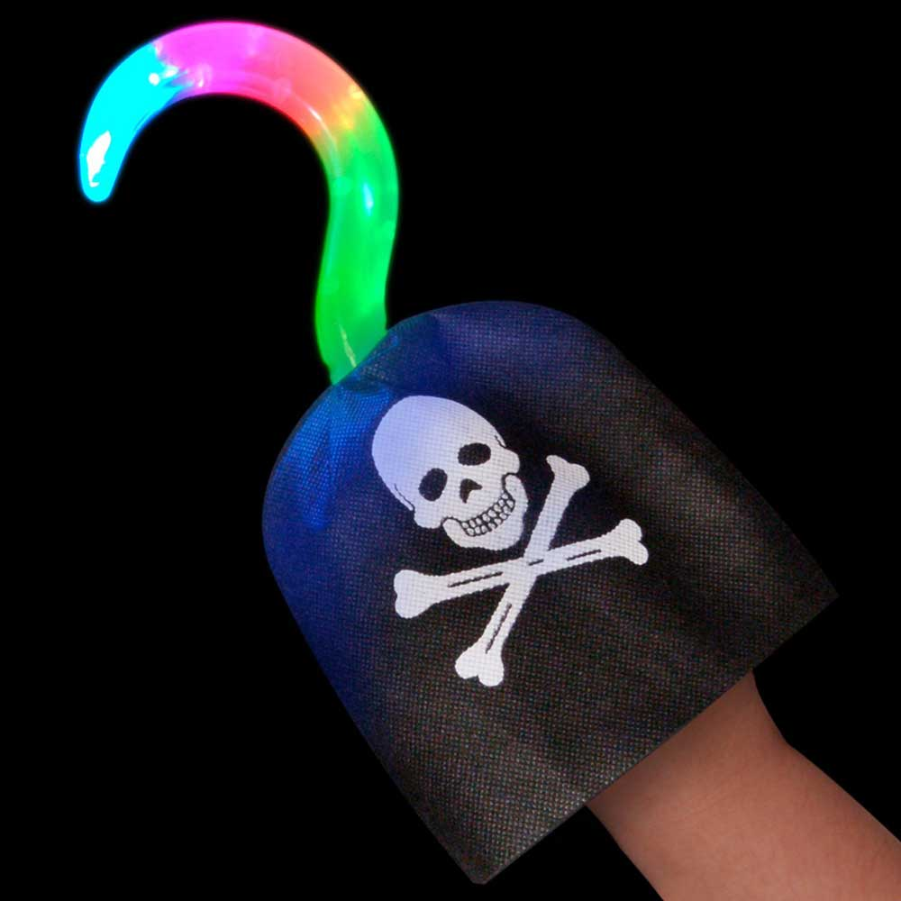 LED Light-up Pirate Hook