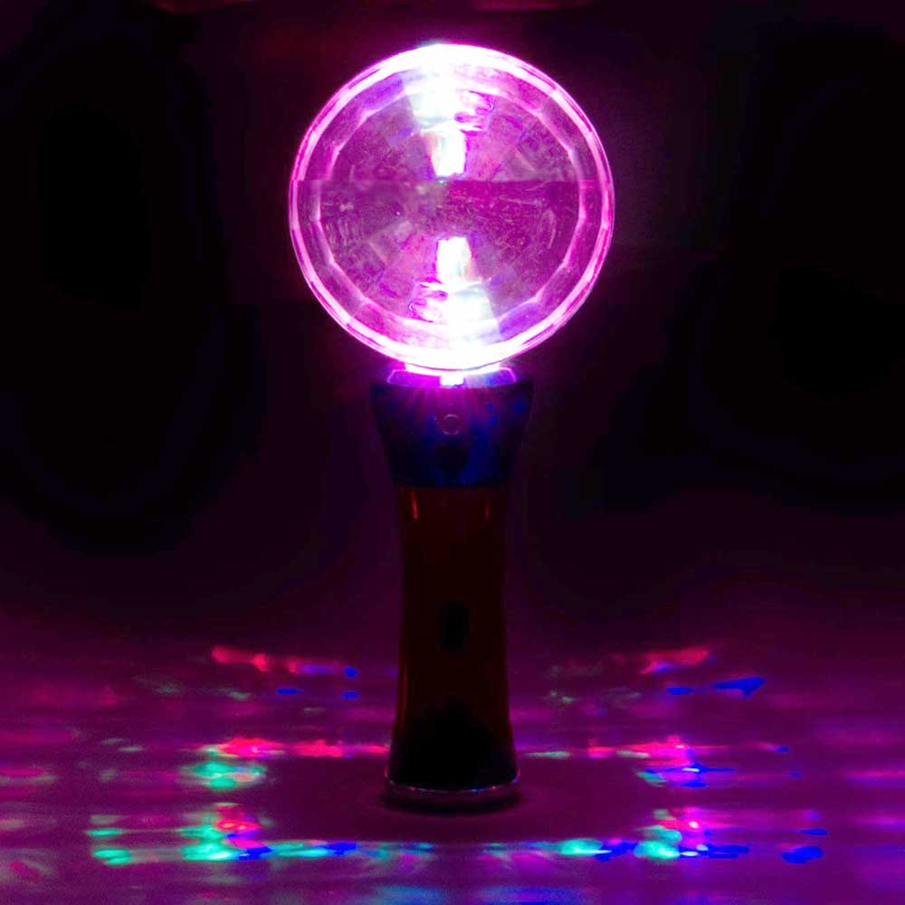 Prism Globe Multicolor LED Flashing Wand, Amazing light patterns -  24 unit lot (one inner)