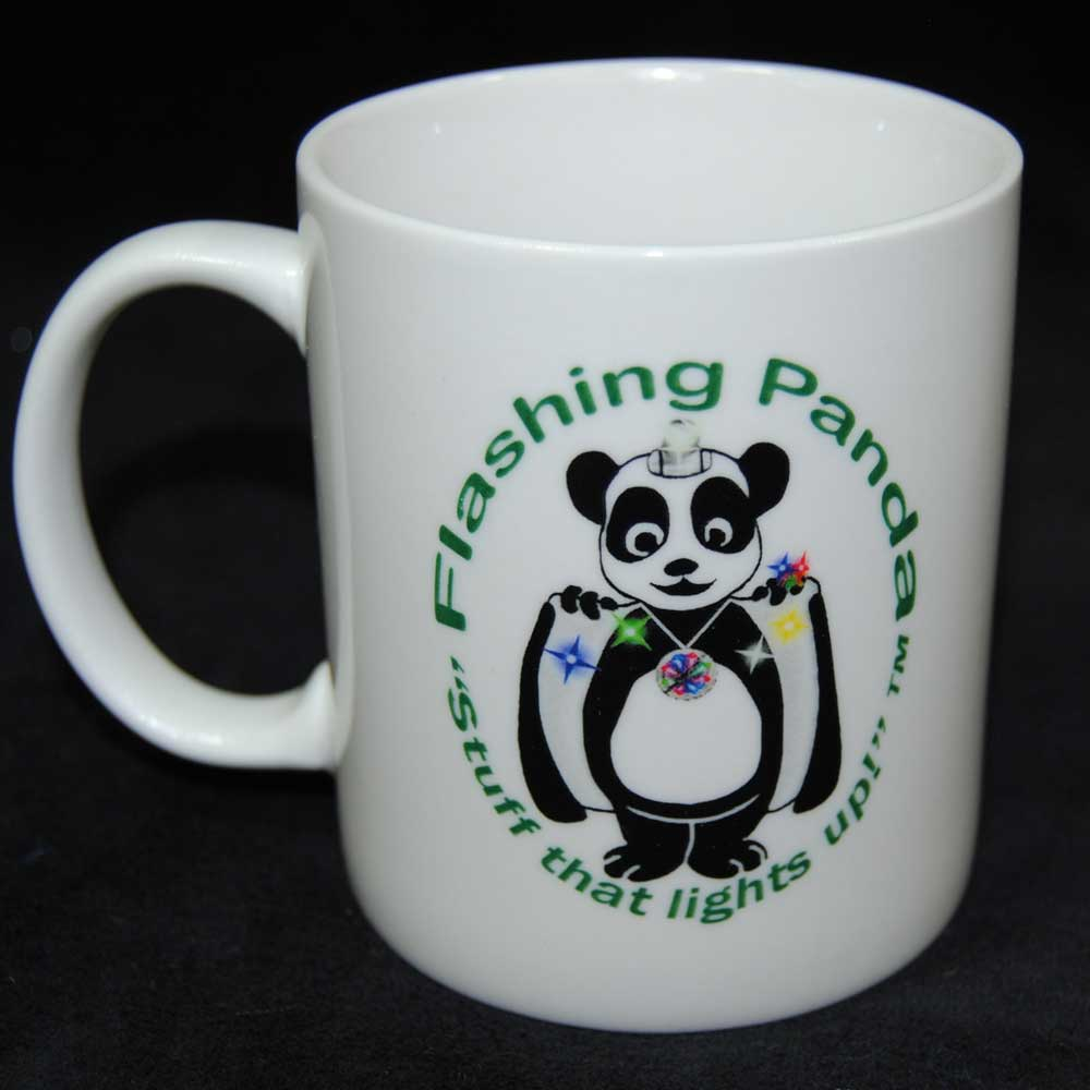 Flashing Panda Ceramic Mug
