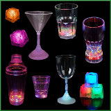 LED Flashing Cups & Glasses