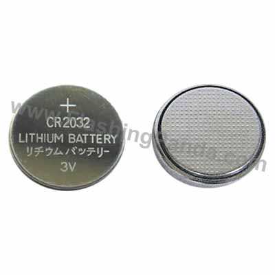CR-2032 Button Cell Battery, Set of 2 Cells