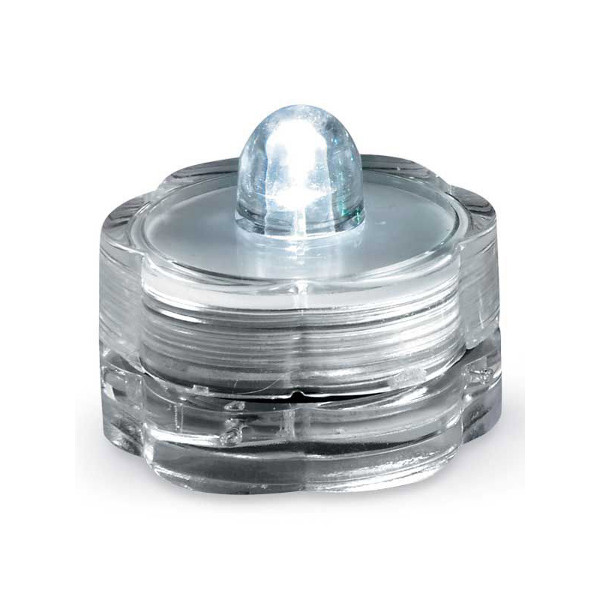LED Submersible Mini Tealight Candle, Variety of Colors