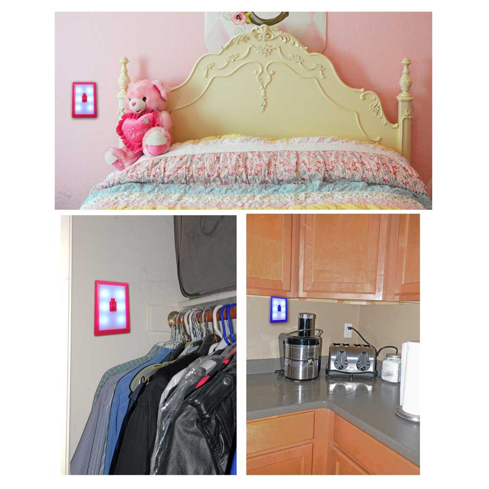 Flashing panda wall switch light nightlight 6 led aaa batteries wall switch light nightlight 6 led aaa batteries image thumbnail image thumbnail image thumbnail mozeypictures Choice Image