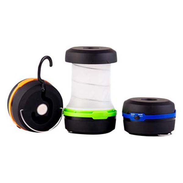 LED Pop-Up Lantern w/ Magnet and Hook, 3 Modes