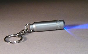 LED Ultra Bright Waterproof Keychain Barrel Flashlight