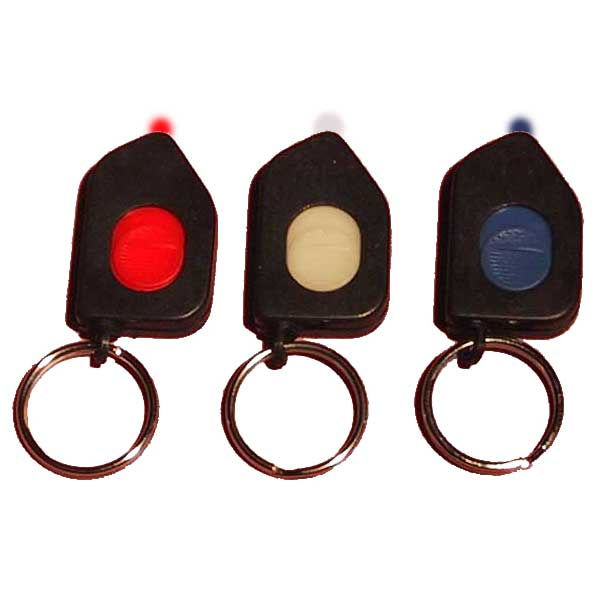 LED Keychain Flashlight - Slide Switch