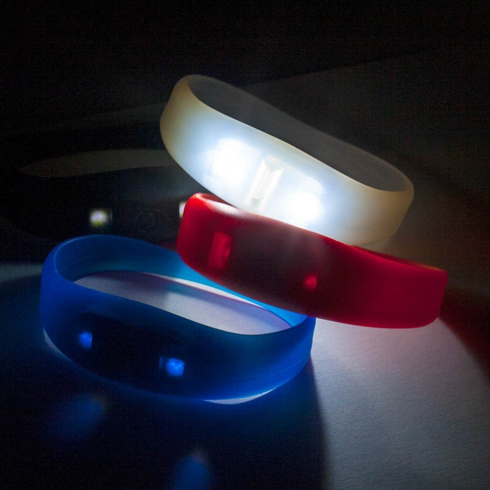 Motion Activated LED Wristband