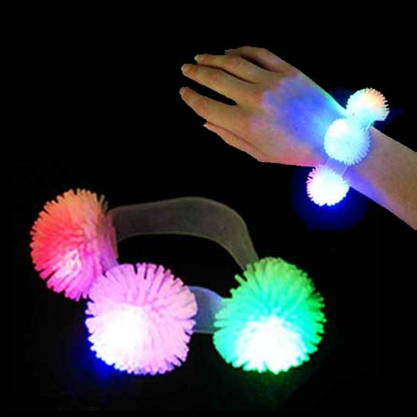Urchin/Porcupine LED Flashing Multicolor Bracelet