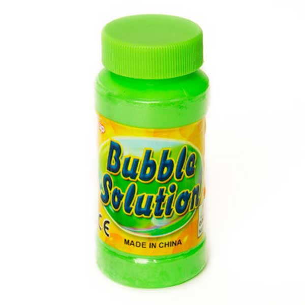 4 Oz Bubble solution for bubble gun - 24 bottles lot